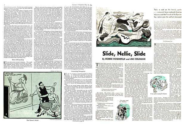 Article Preview: Slide, Nellie, Slide, May 1944 | Maclean's