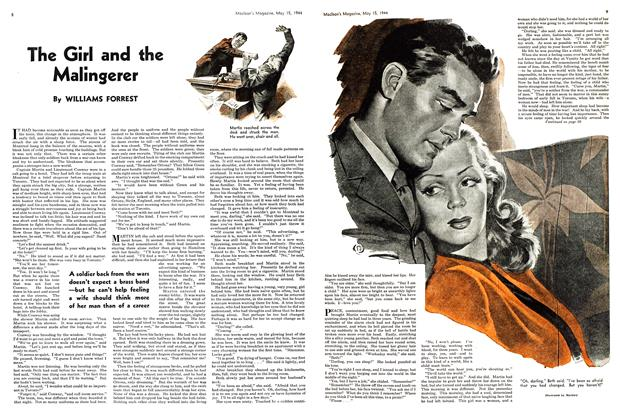 Article Preview: The Girl and the Malingerer, May 1944 | Maclean's