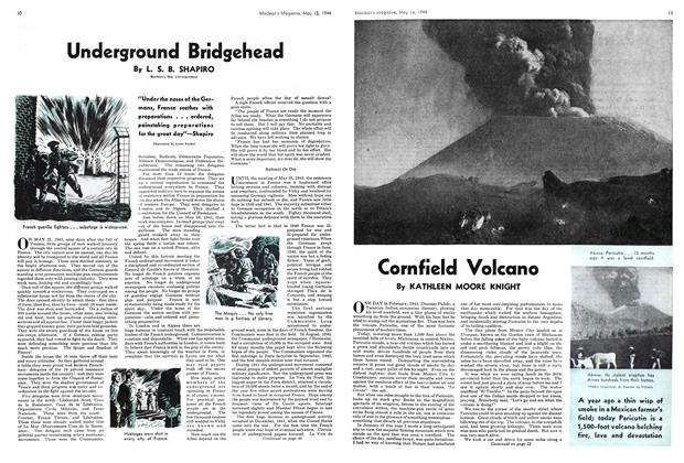 Article Preview: Underground Bridgehead, May 1944 | Maclean's