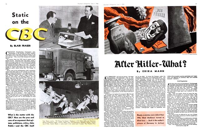 Article Preview: Static on the CBC, June 1944 | Maclean's