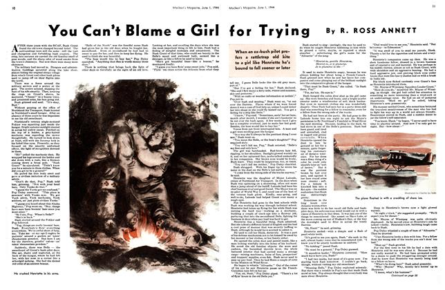 Article Preview: You Can't Blame a Girl for Trying, June 1944 | Maclean's