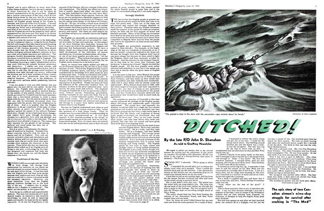 Article Preview: DITCHED!, June 1944 | Maclean's