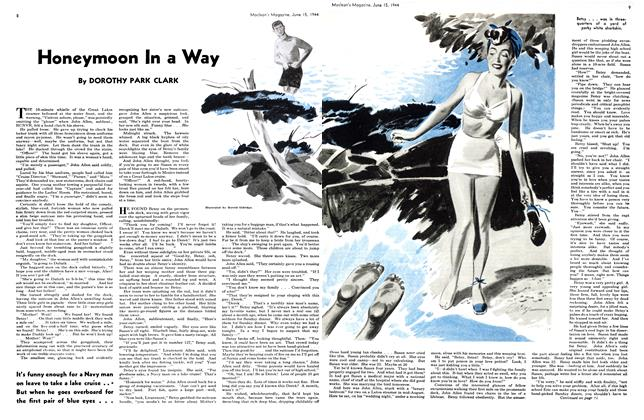 Article Preview: Honeymoon In a Way, June 1944 | Maclean's