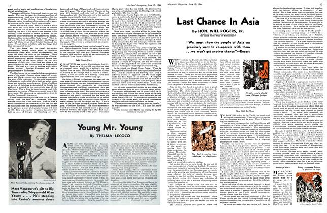 Article Preview: Young Mr. Young, June 1944 | Maclean's