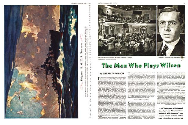 Article Preview: The Man Who Plays Wilson, July 1944 | Maclean's