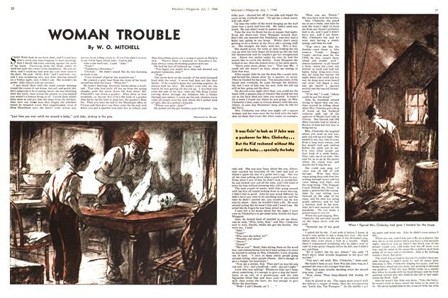 Article Preview: WOMAN TROUBLE, July 1944 | Maclean's