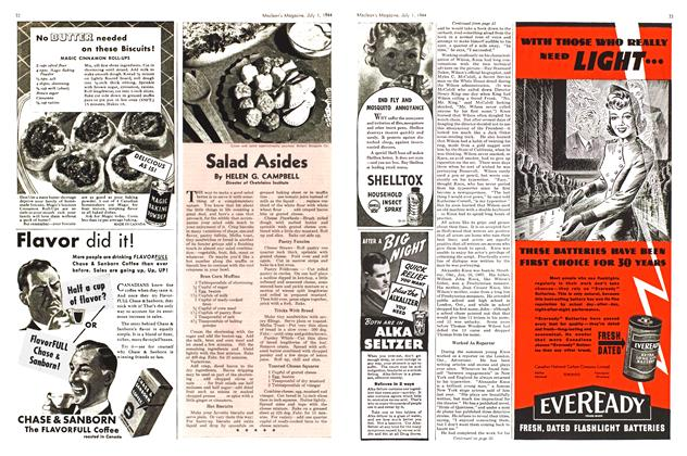 Article Preview: Salad Asides, July 1944 | Maclean's