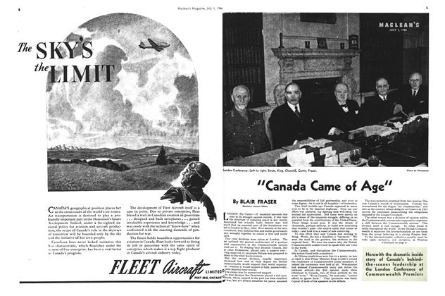 "Article Preview: ""Canada Came of Age"", July 1944 