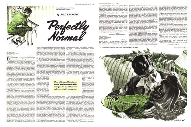 Article Preview: Perfectly Normal, July 1944 | Maclean's