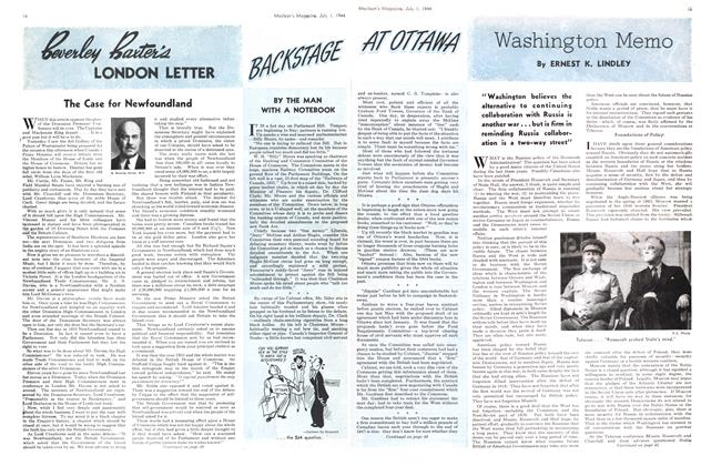 Article Preview: Washington Memo, July 1944 | Maclean's