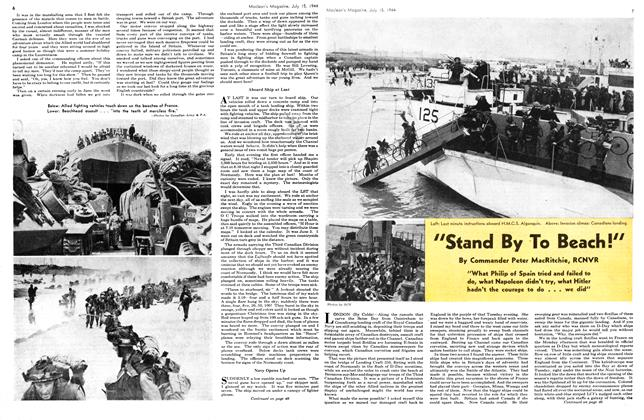 "Article Preview: ""Stand By To Beach!"", July 1944 