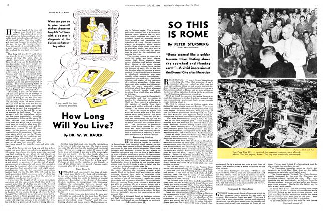 Article Preview: SO THIS IS ROME, July 1944 | Maclean's