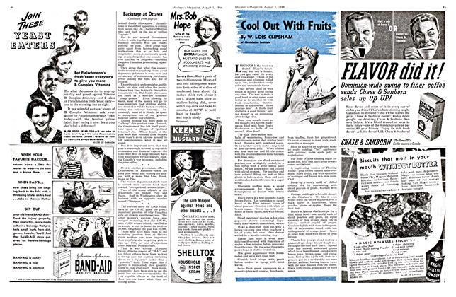 Article Preview: Cool Out With Fruits., August 1944 | Maclean's