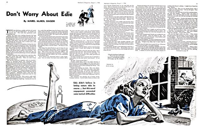 Article Preview: Don't Worry About Edie, August 1944 | Maclean's