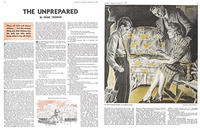 Article Preview: THE UNPREPARED, August 1944 | Maclean's
