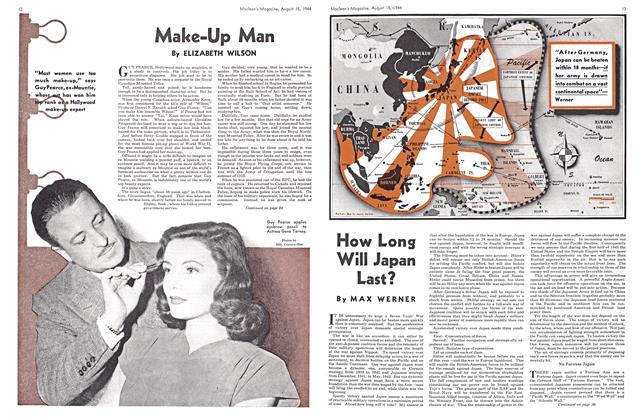 Article Preview: Make-Up Man, August 1944 | Maclean's
