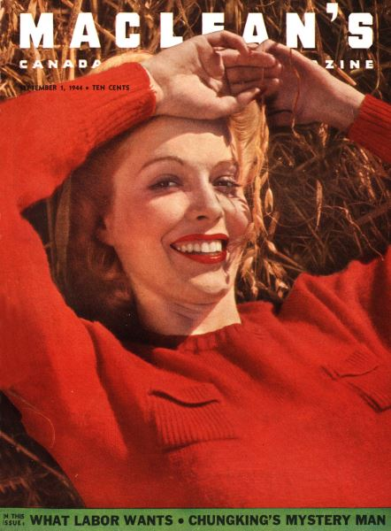 Issue: - September 1944   Maclean's