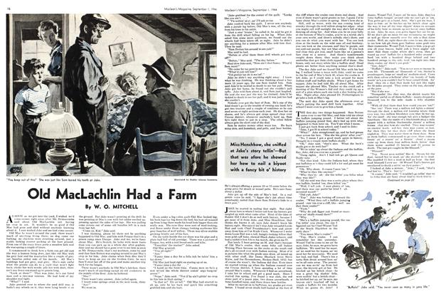 Article Preview: Old MacLachlin Had a Farm, September 1944 | Maclean's
