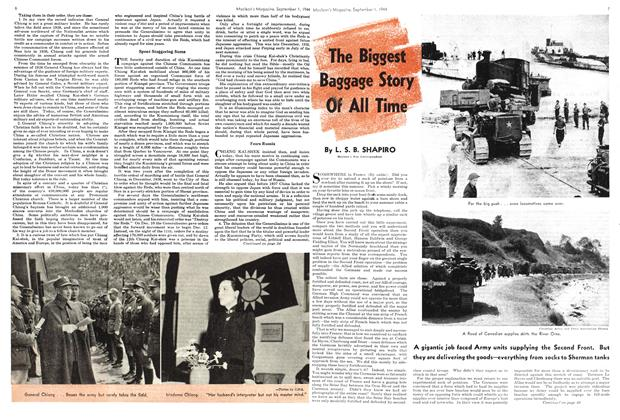 Article Preview: The Biggest Baggage Story Of All Time, September 1944 | Maclean's