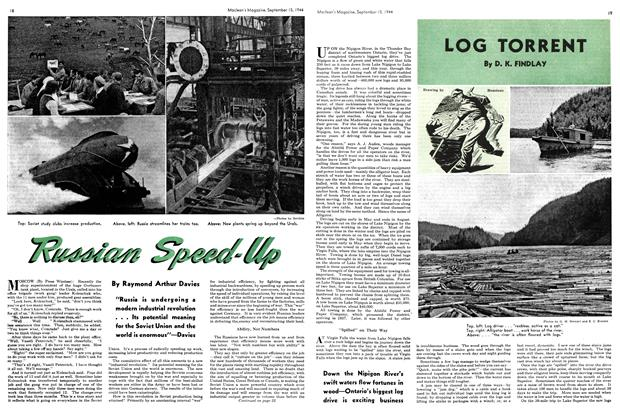 Article Preview: LOG TORRENT, SEPTEMBER 15,1944 1944 | Maclean's
