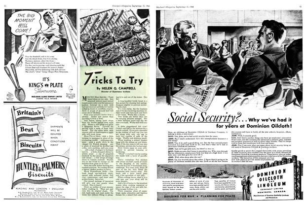 Article Preview: Tricks To Try, SEPTEMBER 15,1944 1944 | Maclean's