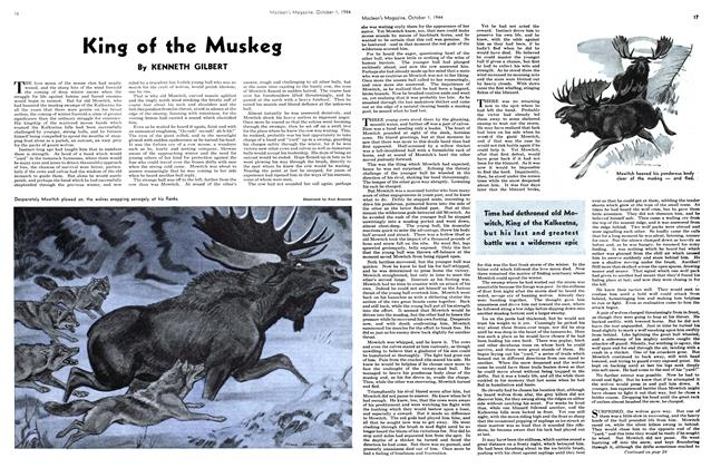 Article Preview: King of the Muskeg, October 1944 | Maclean's