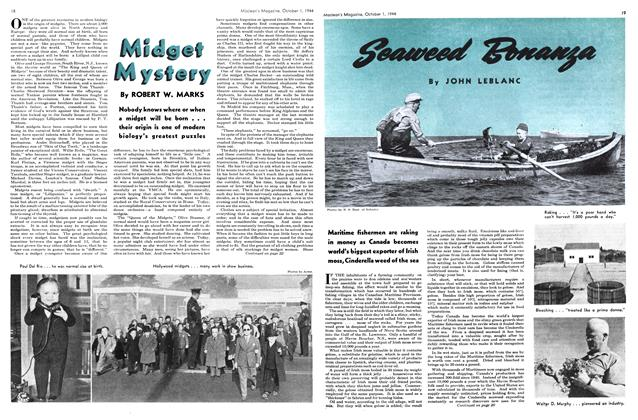 Article Preview: Seaweed Bonanza, October 1944 | Maclean's