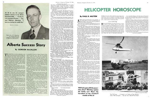 Article Preview: Alberta Success Story, October 1944 | Maclean's