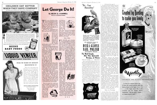 Article Preview: Let George Do It!, October 1944 | Maclean's