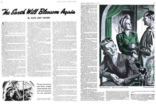 Article Preview: The Earth Will Blossom Agin, October 1944 | Maclean's
