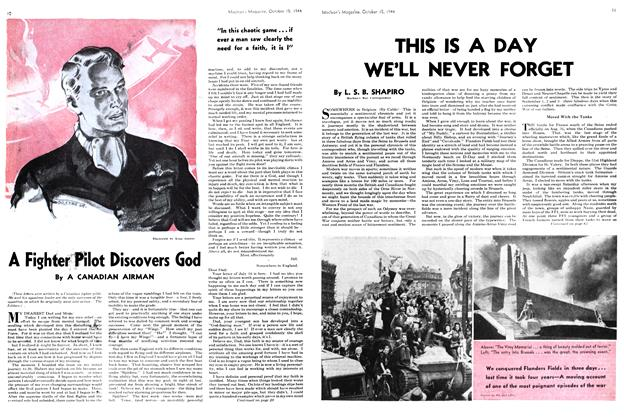 Article Preview: THIS IS A DAY WE'LL NEVER FORGET, October 1944 | Maclean's