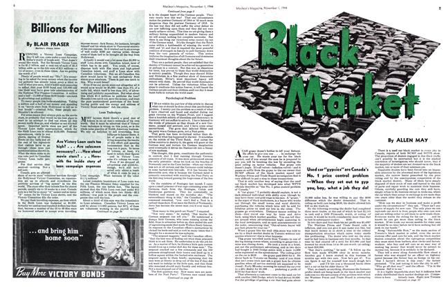Article Preview: Black Market, November 1944 | Maclean's