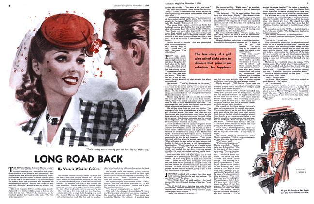 Article Preview: LONG ROAD BACK, November 1944 | Maclean's