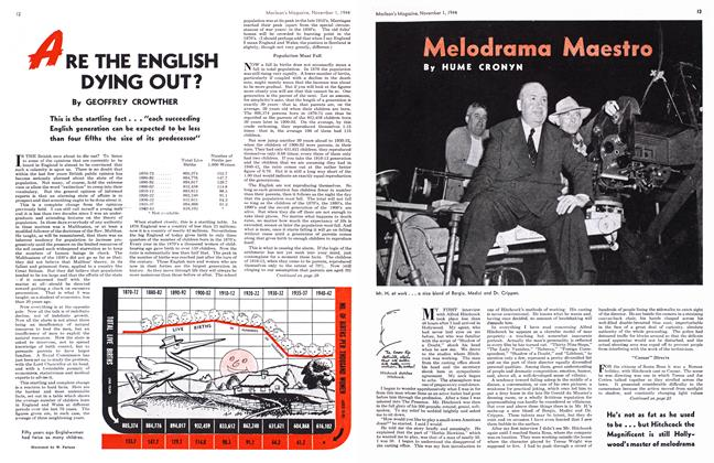 Article Preview: Melodrama Maestro, November 1944 | Maclean's