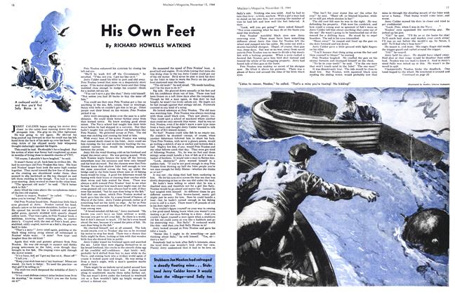 Article Preview: His Own Feet, November 1944 | Maclean's