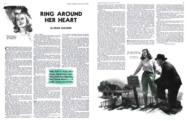 Article Preview: RING AROUND HER HEART, November 1944 | Maclean's