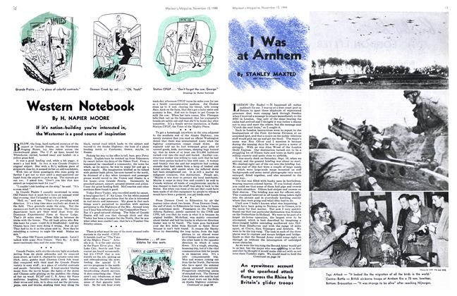 Article Preview: Western Notebook, November 1944 | Maclean's