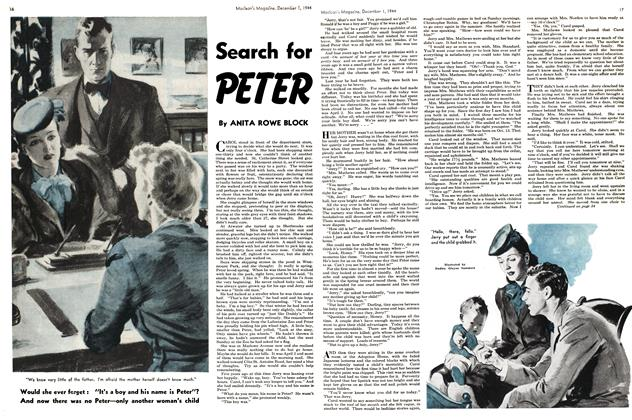 Article Preview: Search for PETER, December 1944 | Maclean's