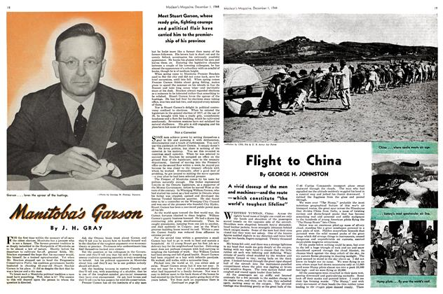 Article Preview: Flight to China, December 1944 | Maclean's