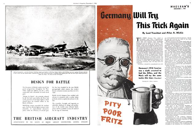 Article Preview: Germany Will Try This Trick Again, December 1944 | Maclean's