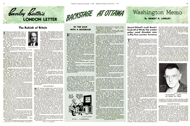 Article Preview: Washington Memo, December 1944 | Maclean's
