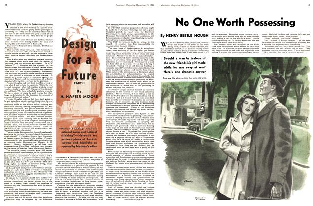 Article Preview: No One Worth Possessing, December 1944 | Maclean's