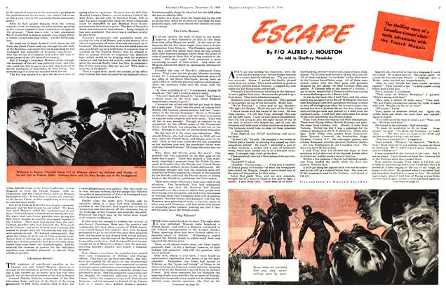 Article Preview: ESCAPE, December 1944 | Maclean's
