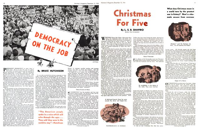 Article Preview: DEMOCRACY ON THE JOB, December 1944 | Maclean's