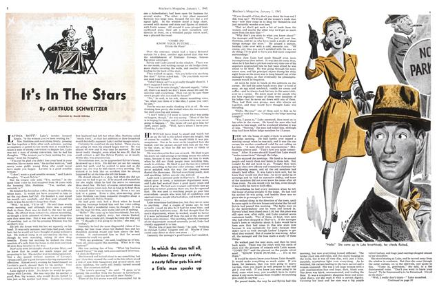Article Preview: It's In The Stars, January 1945 | Maclean's