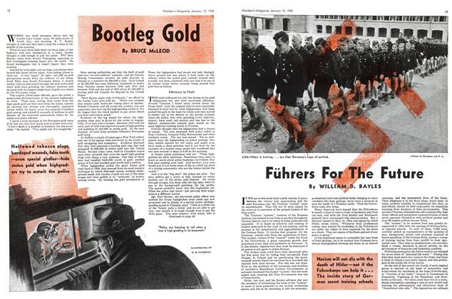 Article Preview: Bootleg Gold, January 1945 | Maclean's