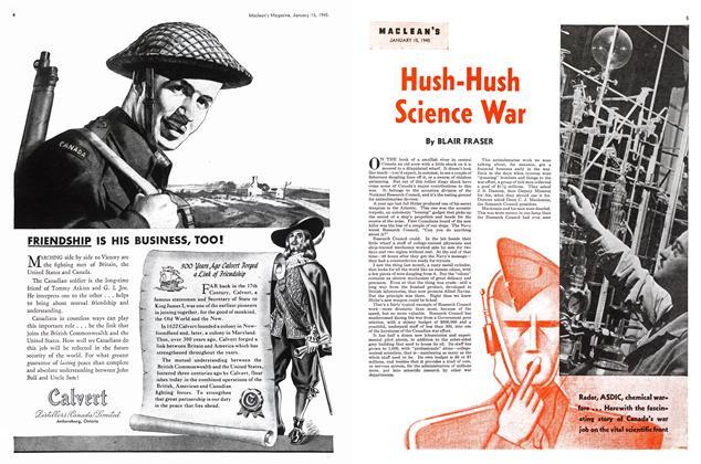Article Preview: Hush-Hush Science War, January 1945 | Maclean's