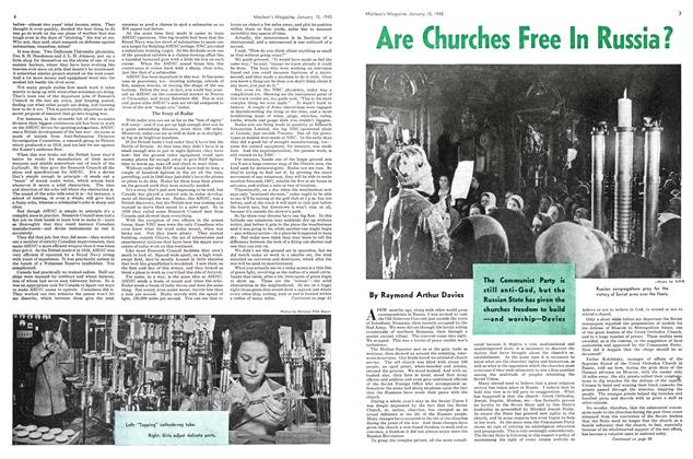 Article Preview: Are Churches Free In Russia?, January 1945 | Maclean's