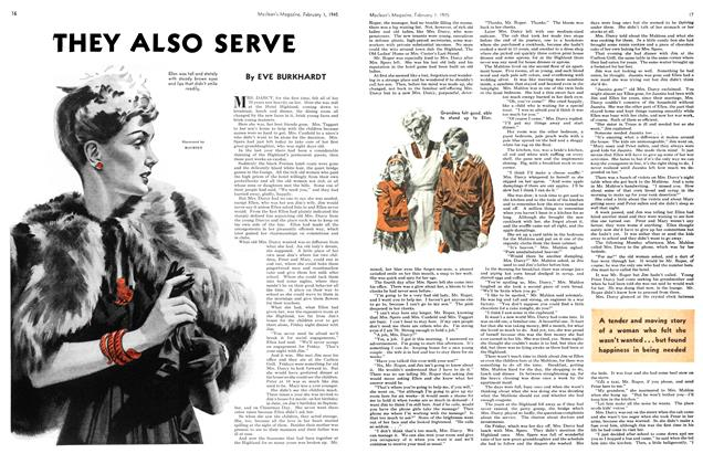 Article Preview: THEY ALSO SERVE, February 1945 | Maclean's
