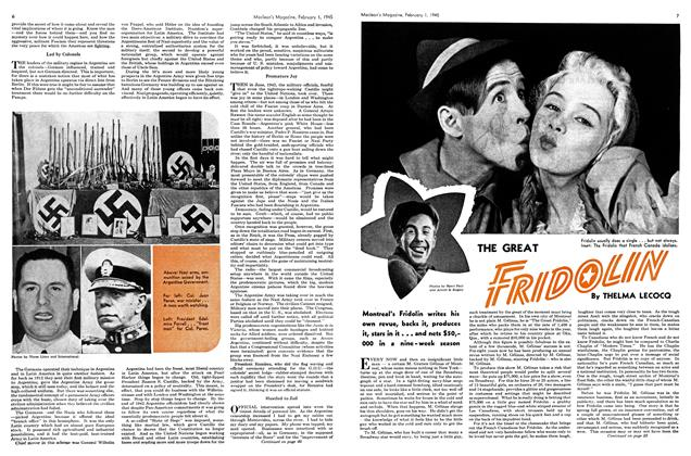 Article Preview: THE GREAT FRIDOLIN, February 1945 | Maclean's